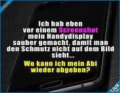 Jemand von der verpeilteren Sorte #verpeilt #peinlich #Spruchbilder #Statussprüche #Textbilder #Humor