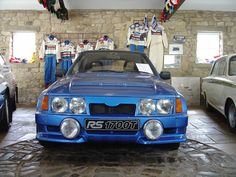 A prototype Group B rally car designed by Ford and based off of the Ford Escort. Ford Motorsport, Classic Road Bike, John Collins, Ford Rs, Ford Sierra, Ford Capri, Old Fords, Ford Escort, Supersport