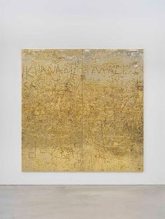 RUDOLF STINGEL Untitled, 2012 Galvanized cast copper 94 x 94 x 1 inches x 240 x cm) Photo by Alessandro Zambianchi Rudolf Stingel, Inspiration Art, Art Moderne, Gold Art, Art Design, Interior Design, Art Plastique, Oeuvre D'art, Contemporary Paintings