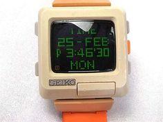 Vintage Stuff and Antique Designs Retro Watches, Old Watches, Vintage Watches, Watches For Men, Tag Heuer, Crea Design, Rolex, Old Technology, Old Computers