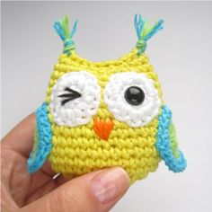 Amigurumi Owl - FREE Crochet Pattern and Tutorial...weird way to write the pattern but is probably decipherable