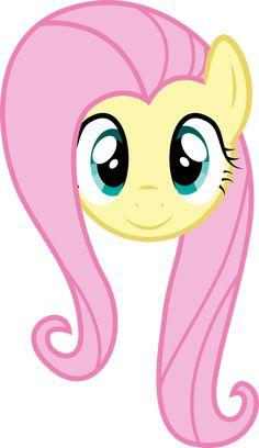 Fluttershy Face by PaulySentry on DeviantArt Festa Do My Little Pony, My Little Pony Costume, Little Pony Cake, My Little Pony Birthday Party, 4th Birthday, Filly, Little Poni, Imagenes My Little Pony, Pony Drawing