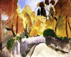 Path between the Walls / Henri Matisse - 1918