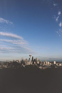 The Seattle skyline -- There's nothing better