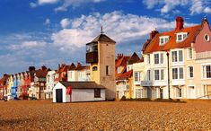 Aldeburgh on the Suffolk coast home to my maternal Parnell relatives from the 1830's. The family originally came from Norfolk.
