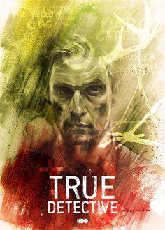 True Detective - Rust Cohle by Drumond Art *