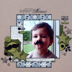 Bonjour, c'est aujourd'hui que sort la nouvelle collection EmbelliScrap, j'avais choisi de scraper parmi les nouveautés des moustaches en feutrine. Après les avoir collées sur un carton et un pique à brochettes, séance photo pour Elouan et Bastien, je...