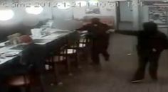 Video - concealed carry permit holder at Waffle House shoots armed intruder.