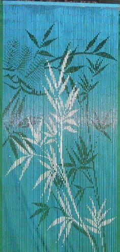 Hawaii-based bamboo home decor, such as bamboo door curtains, painted bamboo doorways, bamboo home furnishings and other tropical decor and Hawaii-themed produc Bamboo Curtains, Hanging Curtains, Drapes Curtains, Bamboo Store, Picasso Blue Period, Beaded Door Curtains, Cute Shower Curtains, Meditation Room Decor, Painted Bamboo