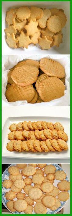 Sweet cookies, ingredients: 4 cups of flour, 2 cups of sugar, teaspoon of salt 1 teaspoon baking powder or baking powder, 250 grams of m … Sweet Cookies, Cake Cookies, Sugar Cookies, Cupcake Cakes, Mexican Food Recipes, Sweet Recipes, Cookie Recipes, Dessert Recipes, Delicious Desserts