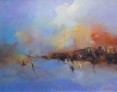 "Saatchi Art Artist Andres Vivo; Painting, ""Vapours  ref. 2472"" #art"