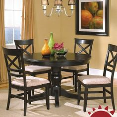 The kitchen table is by far one of the most used pieces of furniture in the home. Whether you choose a round kitchen table or a square one it is likely to ... & Kitchen Table Sets In Nj | Kitchen Furnitures | Pinterest | Kitchen ...