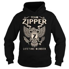 Team ZIPPER Lifetime Member - Last Name, Surname T-Shirt