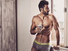'Men & Coffee' Is An Instagram Account Filled With Hot Dudes Drinking Coffee