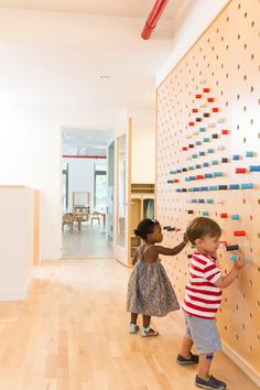 Una pared para la creatividad