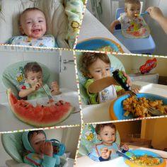 1,2,3 Palavrinhas: Comer para poder crescer...
