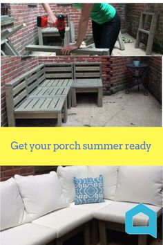 Get these great porch ideas and fall in love with your outdoor space when you join the world's largest home and garden community!