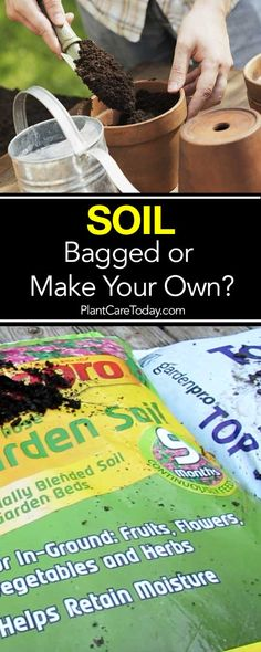 The Best Potting Soil: Buying Bagged or Make Your Own?