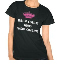 >>>Low Price Guarantee          Keep Calm and Shop Online Tees           Keep Calm and Shop Online Tees In our offer link above you will seeShopping          Keep Calm and Shop Online Tees please follow the link to see fully reviews...Cleck Hot Deals >>> http://www.zazzle.com/keep_calm_and_shop_online_tees-235305776584498659?rf=238627982471231924&zbar=1&tc=terrest