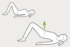 weekly workout routine Beckenbodentraining im Liegen - 6 Beckenboden bungen INSENIO Fitness Workouts, Leg Day Workouts, Best Ab Workout, Abs Workout Routines, Floor Workouts, Ab Workout At Home, At Home Workouts, Yoga Fitness, Easy Fitness