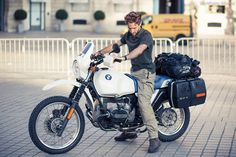 Click this image to show the full-size version. Bmw Boxer, Bmw Motors, Bmw 2, Bmw Cafe Racer, R80, Motor Scooters, Bmw Motorcycles, Sport Bikes, Custom Bikes