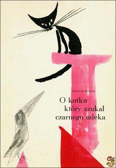 Bechlerowa - O kotku który szukał czarnego mleka il. Jan Wilkoń