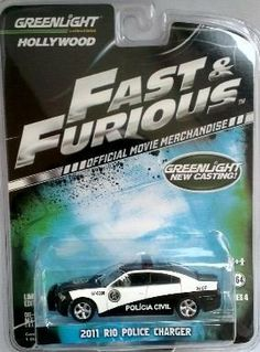 Greenlight Hollywood, Fast and Furious (Fast Five), 2011 Rio Police Charger. 1:64 Scale. by Greenlight. $9.99. Limited Edition. Series 4. 1:64 Scale die cast. 2011 RIO POLICE CHARGER