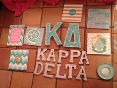 Big little art.. obviously the letters need to be changed