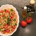 Pasta Salad with Cucumbers and Tomatoes #pastapalooza
