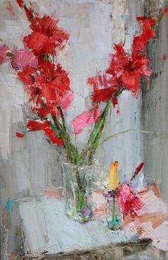 Селенин Андрей / Selenin Andrey – Гладиолусы / Gladiolus - 100x70