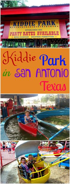 Kiddie Park in San Antonio Texas is the perfect place when you want to get your kids out of the house