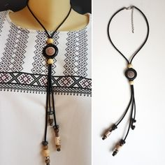 Washer Necklace, Beaded Necklace, Handmade Necklaces, Etsy, Shopping, Jewelry, Fashion, Beaded Collar, Moda