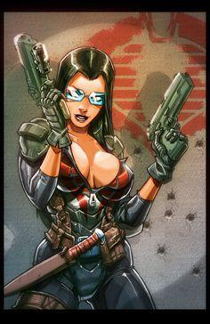 Baroness2 by MiaCabrera.deviantart.com on @deviantART