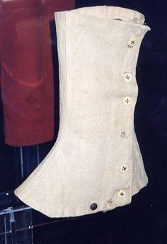 Leggings worn by Collis Zouaves - 114th Pa. regt