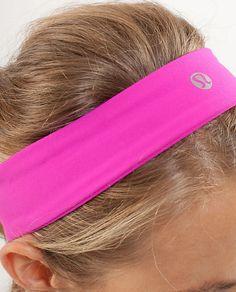 Lululemon hot pink headband Pink Headbands 1eb28df00c8