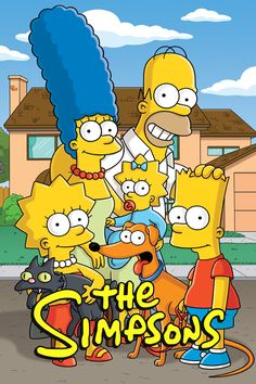 The Simpsons    Set in Springfield, the average American town, the show focuses on the antics and everyday adventures of the Simpson family; Homer, Marge, Bart, Lisa and Maggie, as well as a virtual cast of thousands.