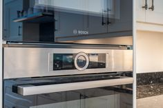 Bosch Series Eight Oven and Micro Combi Real Kitchen, Kitchen On A Budget, Today Images, German Kitchen, Kitchen Showroom, Kitchens, Kitchen Appliances, Shaker Kitchen, North London
