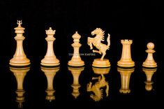 The Ferrari Series Boxwood/Ebony Chess Pieces, Art Pieces, Luxury Chess Sets, Chess Set Unique, Face Structure, Series 4, Dark Wood, Unique Art, How To Introduce Yourself
