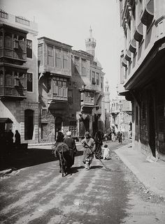 A street in Cairo, 1929