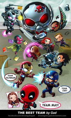 How I imagined Deadpool in Civil War