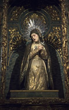 Morbid Anatomy: Apologies for Scant Blogging AND Seville, Spain: Packed with Tormented Souls in Purgatory, Mortally Wounded-Christs, Holy Week Processions and Madonna Dolorosas