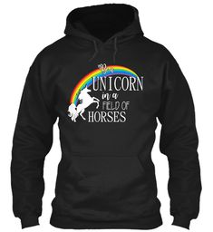 Discover Beautiful Unicorn Quote Sweatshirt from Unicorn Tees, a custom product made just for you by Teespring. - Cute Gift for Unicorn Lovers Be a Unicorn in a. Unicorn Quotes, Beautiful Unicorn, Girly, Hoodies, Sweatshirts, Cute Gifts, Tees, Black, Women's
