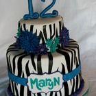 Zebra Cake. Boys !!!