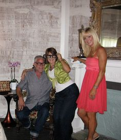 Penny & Nikki with Billy Brasfield. Featured on HGTV's Hometown Renovations