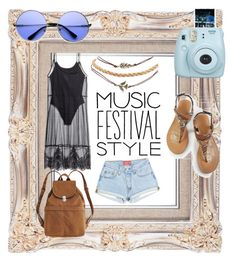 """""""Music Festival Style..🍃"""" by keezyx ❤ liked on Polyvore featuring Wet Seal, H&M, ZeroUV and BAGGU"""
