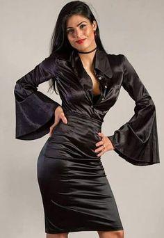 Satin Cami Dress, Black Satin Dress, Satin Gown, Satin Skirt, Silk Dress, Silk Satin, White Maxi Dresses, Lovely Dresses, Satin Dresses