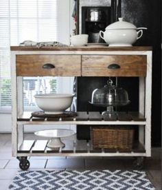 farmhouse kitchen island with wheels home pinterest farmhouse kitchen island farmhouse kitchens and kitchens