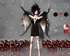 TASHI Abaddon | A new round of The Instruments has began and here is what we have for it!  This event runs October 18th until November 6th Landmark The Instruments  SLURL maps.secondlife.com/secondlife/INSTRUMENTS/121/108/34  Happy Shopping Shinya Tandino