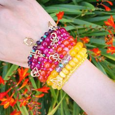 www.lydiaoflondon.com   we are loving the sunshine this morning ☀️ hoping for a #rainbow later like our #armparty  #lydiaoflondon #love #stackem #giftideas #colouful #londonstyle #summer2015 #armcandy #gems #yogini #yogagirl #om #namaste #loa #queenie #nature #wristporn #wristgame #ibizastyle #london #sunshine #diamonds #jewelry #fashionblogger #fashionista #meetings #potd