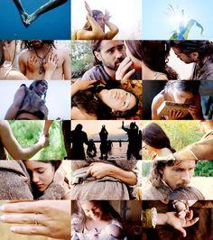 The New World - Colin Farrell, Christian Bale - Capt. John Smith